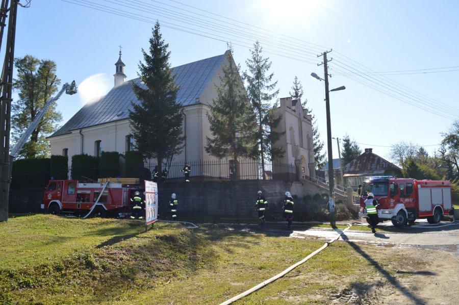 Gminne ćwiczenia jednostek OSP w Nienaszowie